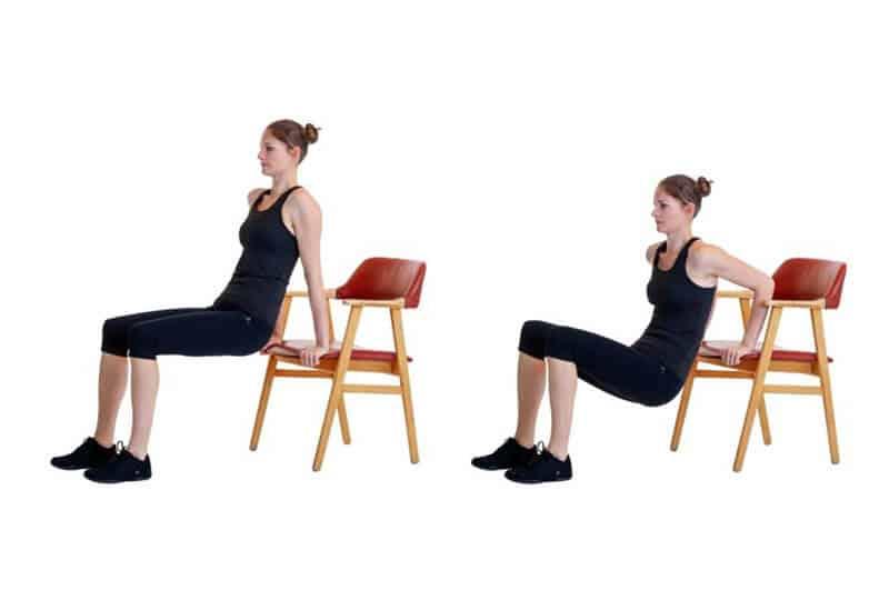 تمارين عضلة الصدر لتكبير الثدي